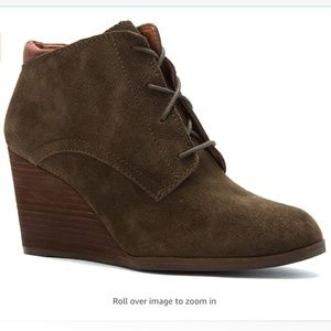 Lucky Brand Women's Sumba Wedge Bootie